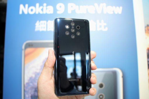 使用者录影记录,Nokia 9 PureView 指纹辨识形同虚设
