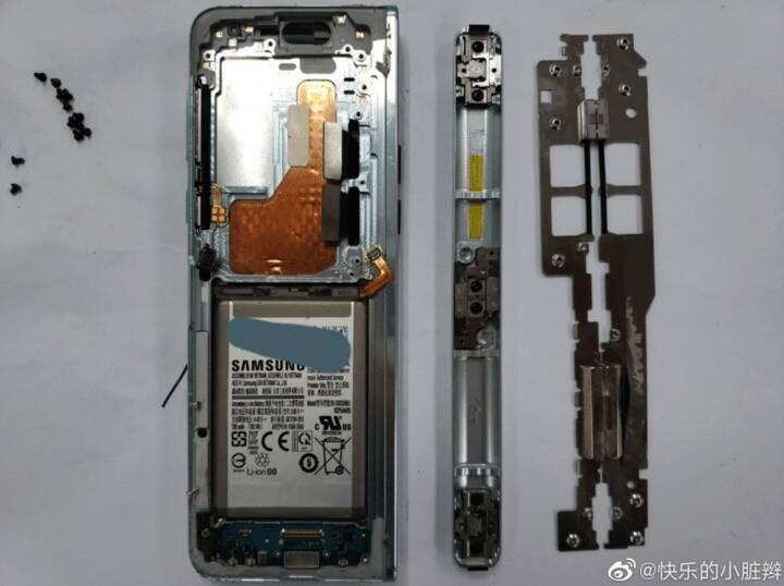 網友拆解三星 Galaxy Fold:內部複雜程度堪比機械手錶