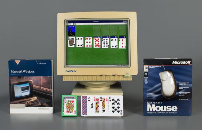 本意是教導消費者如何使用滑鼠,「微軟接龍」入選世界電子遊戲名人堂