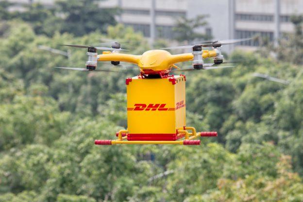 DHL国际快递首次在中国推出智能化物流无人机递送