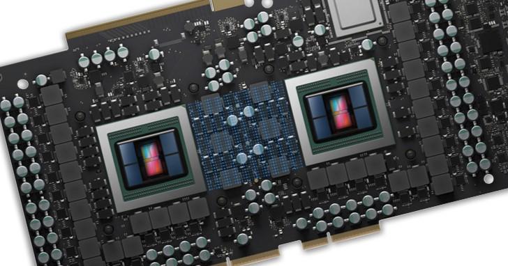 雙 GPU 顯示卡好久不見!AMD Radeon Vega II Duo 具備 Infinity Fabric、475W PCIe 連接器,還有 Thunderbolt 3