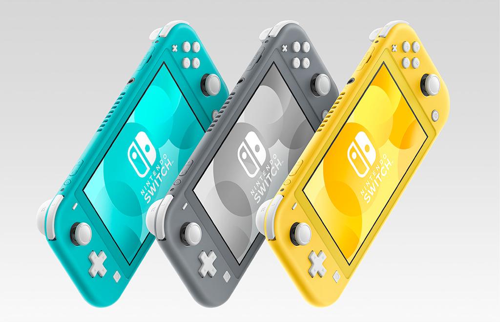 不能切換電視模式的真掌機!任天堂新機 Nintendo Switch Lite 三色登場