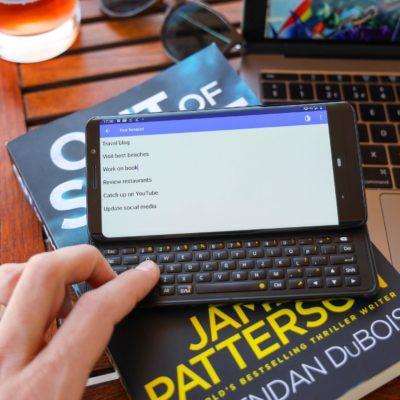 一款側滑蓋的全鍵盤 Android 手機,還能讓你心動嗎?