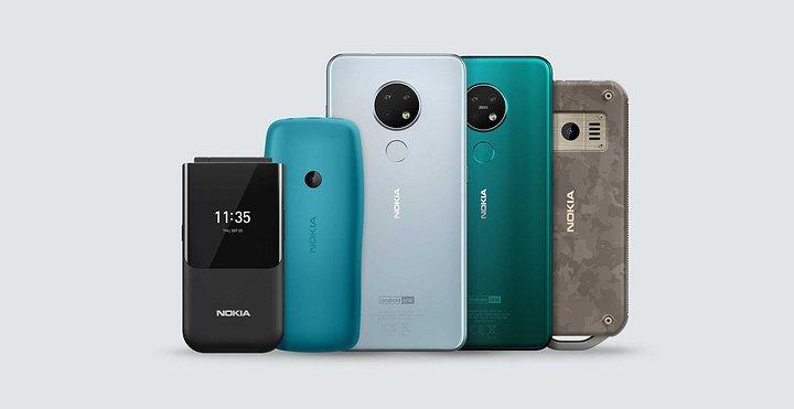 功能性手機市場仍有可為,諾基亞做了一款新的翻蓋手機搶業績