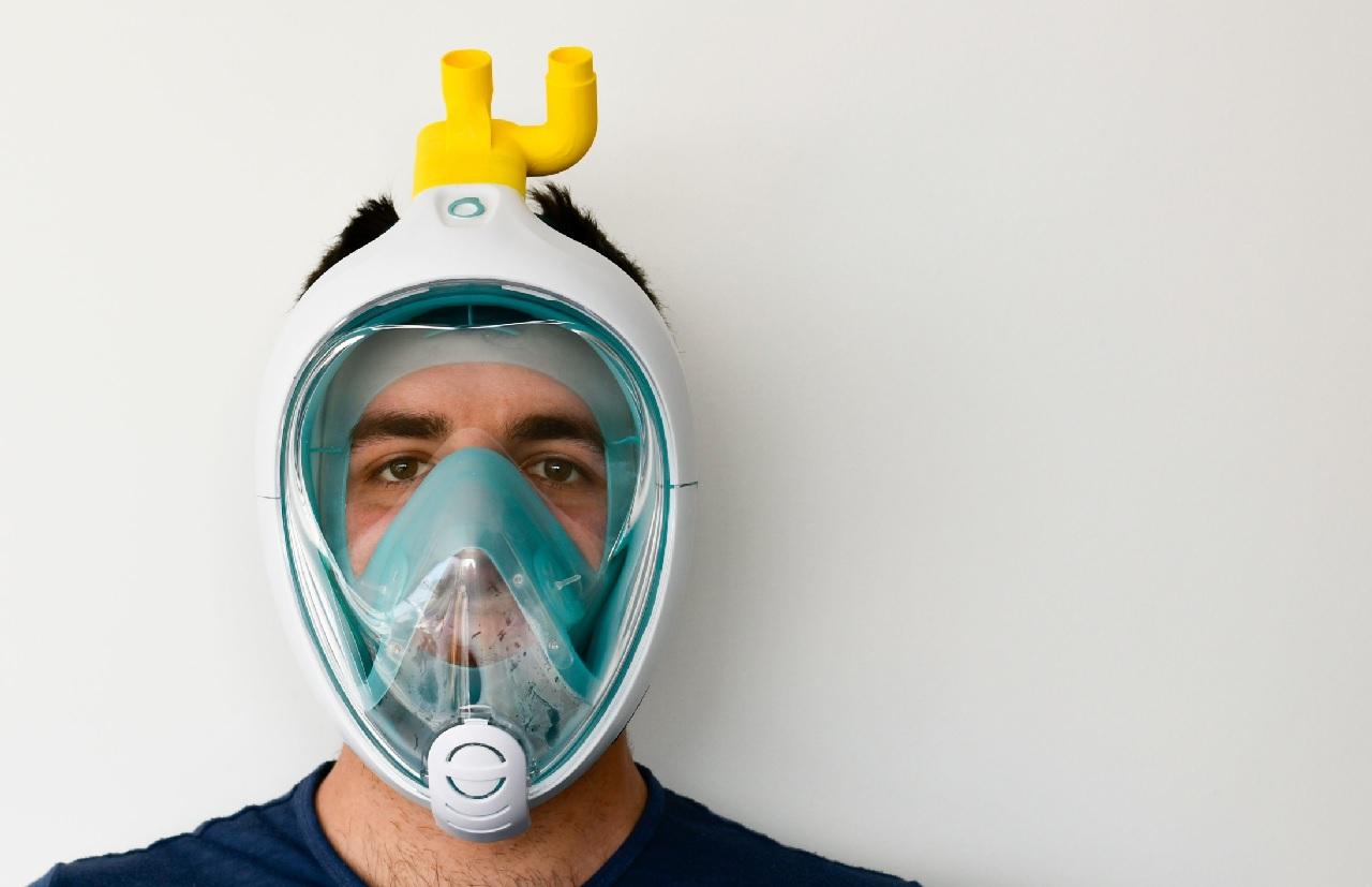呼吸器嚴重短缺,義大利工程師把潛水面罩改造成醫用呼吸器