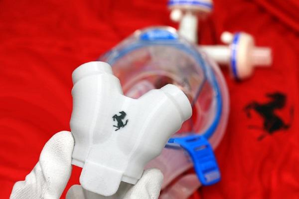 法拉利公开呼吸器零件成品照,采用跑车生产技术盼提升制程品质