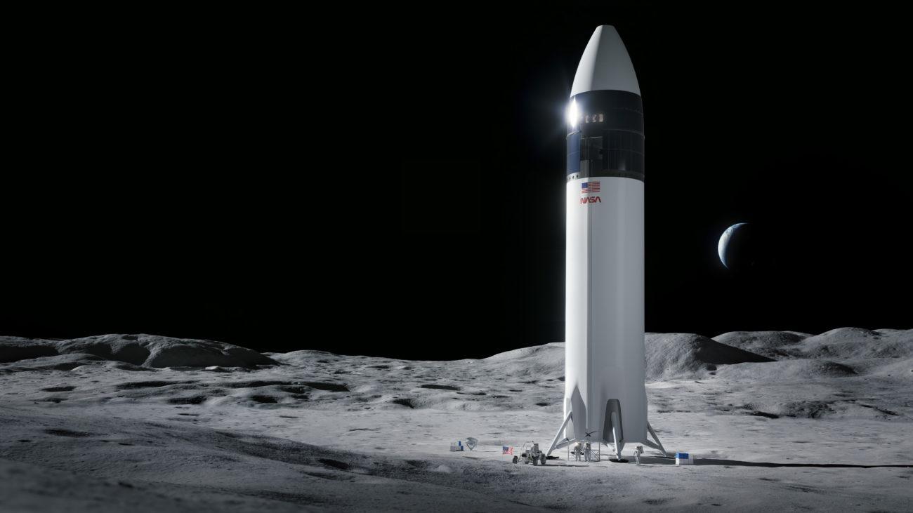 SpaceX已赢得与NASA的29亿美元合同,并有望在2024年重返月球