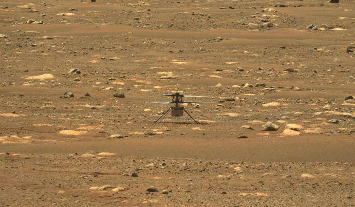一架创新型直升机首次飞往火星,这是莱特兄弟之后的另一项人类壮举。 科技新闻